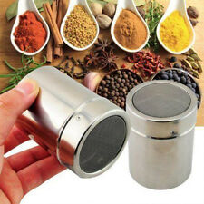 Stainless Steel Chocolate Shaker Powder Flour Icing Sugar Salt Cappuccino Sifter