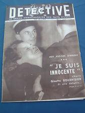 Détective 1949 174 BERNAY SANARY SOLLIèS VALDOIE HéRICOURT TOURRETTES SOLLIèS PO