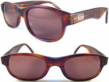 RARE & STYLISH MOMO DESIGN UNISEX SUNGLASSES , ACETAT / BROWN