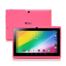 "iRulu eXpro X1 7"" 16GB Google Android 4.4 Quad Core HD Screen GMS Pink Tablet PC"