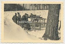 Foto Soldaten Wehrmacht am Schießstand  2.WK  (1054)