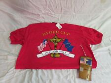 New collectible 35th Ryder Cup t-shirt & ticket 2004 Oakland Hills Country Club