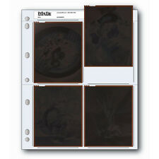 50x PRINT FILE 4 x 5 Negative Pages Sleeves Film Archival Preservers 45-4B