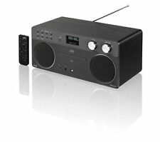 Hi-Fi Wireless Sistema DAB RADIO FM LETTORE CD BLUETOOTH AUX USB Radio Digitale