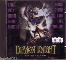 TALES FROM CRYPT Demon Knight Soundtrack CD MEGADETH PANTERA FILTER MINISTRY