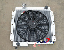 62mm 3 ROW TOYOTA LAND CRUISER BJ40 BJ42 ALUMINUM RADIATOR + 16'' FAN