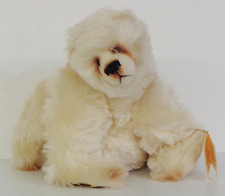 ARTIST MOHAIR BEAR CHANGLE BEARS BY JANET CHANGFOOT 'FROSTY' NO:1 OF 2