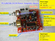 TEA2025B Bass/Volume Adjustable 2.1-Channel Audio Power Amplifier Board DIY Kits