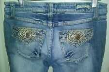 Z Co. PREMIUM JEANS SIZE 5 BOOTCUT COTTON STRETCH 29 X 32 SUPER LOW WAIST