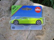 SIKU 0878 HURRICANE voiture de sport GT Neuf boite blister scellé