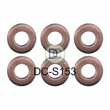 BMW 330 d (E46) Bosch Common Rail Diesel Injector Washers / Seals Pack of 6