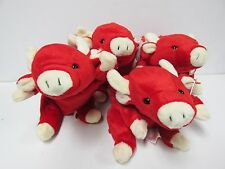 Ty - Beanie Baby, Snort, the Bull - Pristine with MINT TAGS