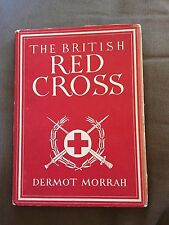 "1944 1ST EDITION ""BRITISH RED CROSS"" MEDICAL HISTORY ILLUSTRATED HARDBACK BOOK"