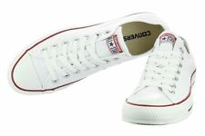 Women Lady ALL STARs Chuck Taylor Ox Low Top classic white Canvas Sneakers US6.5