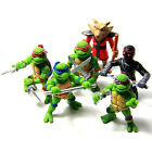 6Pcs Teenage Mutant Ninja Turtles TMNT Action Figures Toy New Classic Collection