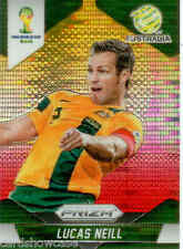 2014 World Cup Prizm Yellow Red Parallel No.15 L.NEILL (AUSTRALIA)