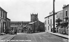 Main Street & Church Warton Nr Lancaster unused RP pc Frith