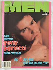 Vintage Advocate MEN Gay Interest Beefcake Homoerotic Magazine February 90 1990