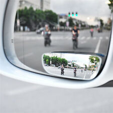 2Pcs Car Auto 360° Universal Wide Angle Convex Rear Side View Blind Spot Mirror