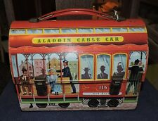 1962 aladdin cable car metal dome top lunch box