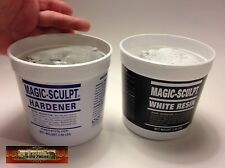 M02052 MOREZMORE 5 lb WHITE Magic Sculpt Sculp Epoxy Clay Model Putty T20A