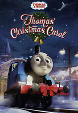 New DVD Thomas' Christmas Carol  Thomas the Tank Engine Free Shipping !