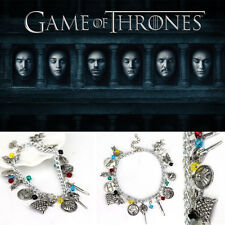 Game of thrones inspired charms bracelet