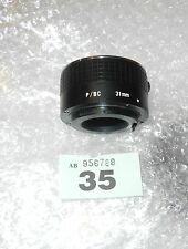 PRAKTICA fit 31mm Extension Tube with electrical contacts p/bc MACRO  EXTENTION