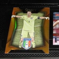 2015 SELECT SOCCER GIANLUIGI BUFFON ITALIA ORANGE PRIZM 144/149