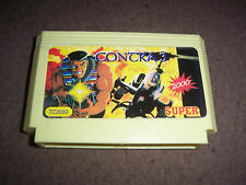 -*- ULTRA Rare Old Famicom Famiclone NES cartridge - Contra Force 3  -*-