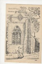 Church Of St Thomas Winchelsea 1955 Art Postcard Rodney 679a