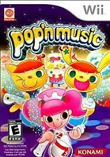 POP N MUSIC WII  GAME NEW
