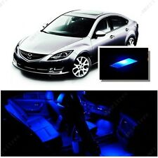 For Mazda 6 2009-2013 Blue LED Interior Kit + Blue License Light LED