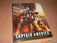 Captain America Blu-ray Steelbook w/ Lenticular Slipcase Blufans | China NEW