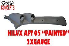 "to suit Toyota Hilux aft 05 DOUBLE PILLAR POD ""NEW"" PAINTED"