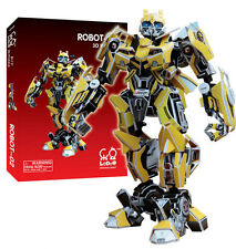 Paper 3D Puzzle Robot Model Transformer Bumble Bee Autobots Statue Figure NEW
