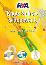 NEW Rya Knots, Splices and Rope work Handbook Paperback large Colour Book