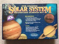 NEW Our Amazing Solar System Planetary Science Kit Build Colorful Model Display
