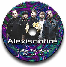 ALEXISONFIRE PESADO ROCK GUITARRA SOLAPAS LIBRO DE TABLATURAS DE CANCIONES
