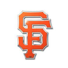 MLB San Francisco Giants Car Truck Auto 3-D Aluminum Color Emblem Sticker Decal
