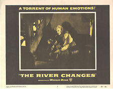The River Changes 1956 11x14 Lobby Card #7