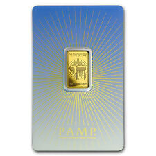 5 gr Gold Bar - PAMP Suisse Religious Series (Am Yisrael Chai!) - SKU #94452