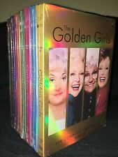The Golden Girls Seasons 1-7 DVD Complete Series Collection 1 2 3 4 5 6 7 New