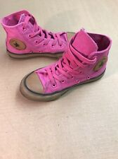 Converse All Star CHUCK TAYLOR Pink Beige Athletic Shoes Toddler Girls' Size 12