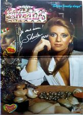 SHEILA =  Superbe POSTER 2  pages 1979 !!!