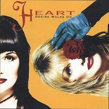 Heart: Desire Walks on  Audio Cassette