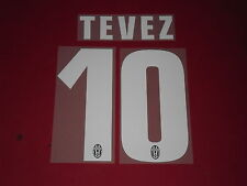 FLOCAGE OFFICIEL TEVEZ JUVENTUS HOME 2013/2014