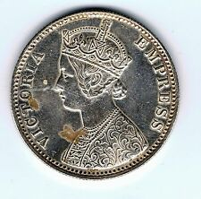 1901 India 1 one rupee silver coin - 11.7g