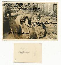 Deutsche jüdische Einwohner Räumarbeiten Soldaten Foto beschriftet Russland? 2WK