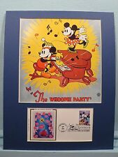Walt Disney - Mickey Mouse & Minnie Mouse - The Whoopee Party & First Day Cover